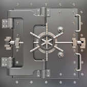 Safe in stainless steel. Bank Vault. — Stock Photo