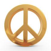 Signe de la paix. 3d — Photo