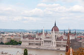 View on Pest, Budapest, Hungary — Stock Photo
