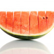 Watermelon (isolated on white background) — Stock Photo