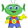 Royalty-Free Stock Vector Image: Friendly alien