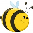 Baby bee - Stock Vector