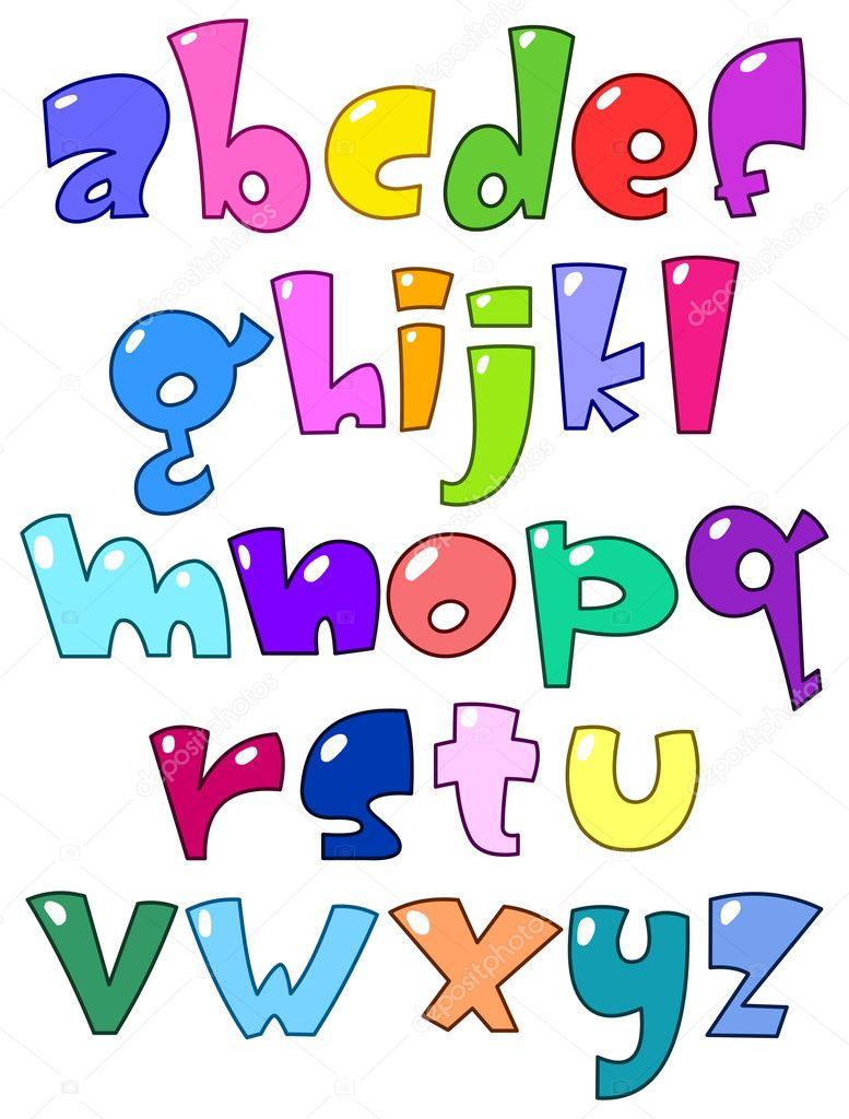Alphabet Cartoon