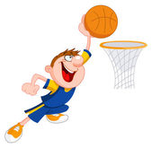 Basketball kid — Stock Vector