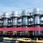 Завод по переработке газа — Стоковое фото