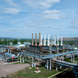 Gas processing factory - Foto Stock