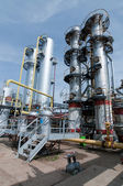Gas processing factory — Stock Photo
