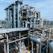 Foto Stock: Gas processing factory