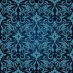 Blue seamless wallpaper pattern — Stock Vector #5475108