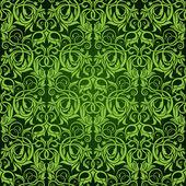 Pattern di sfondo trasparente verde — Vettoriale Stock