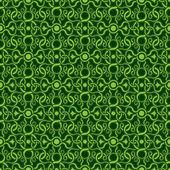 Green seamless wallpaper pattern — Stock Vector