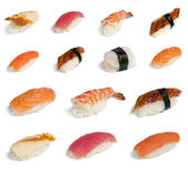 Collection sushi — Stock Photo