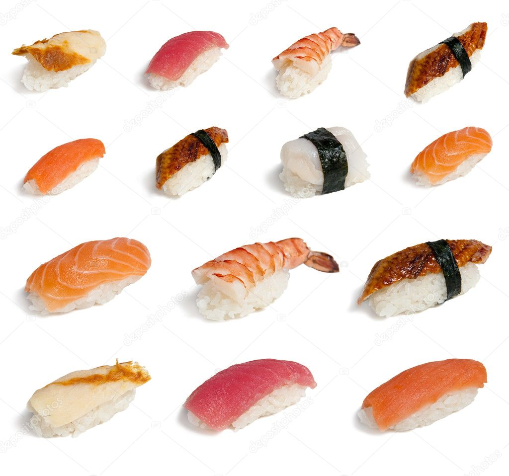 Collection sushi stock photo zybr78 5583130 for Sushi fish names