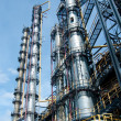 View gas processing factory — Stock Photo