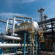 Gas industry. sulfur refinement - Stock Photo
