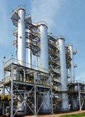 Visa gas fabriken — Stockfoto