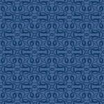 Blue seamless wallpaper pattern — Stock Vector #6656935