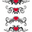 Valentine ornaments - 
