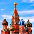 Cathedral of Vasily the Blessed on Red Square Moscow Russia — Stock Photo #5459218