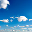 Beautiful blue sky background — Stock Photo
