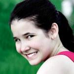 漂亮女性的脸 — 图库照片