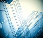 Glass gebäude perspektivisch — Stockfoto