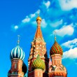 St Basils cathedral on Red Square in Moscow — Foto de Stock