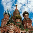 St. Basil&#039;s Cathedral on Red square, Moscow, Russia - Stock Photo
