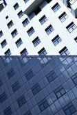 Fassade des modernen bulding-hauses — Stockfoto