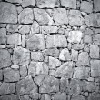 Stock Photo: Dark stone wall texture