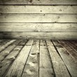 Grunge wooden styled interior — Stock Photo