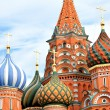 Cathedral of Vasily the Blessed on Red Square in Moscow, Russia - Stockfoto