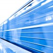 Train on underground platform — Stock Photo #6710971