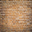 Persistence concept, background of red brick wall texture — Stock Photo