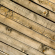 Stock Photo: Diagonal grungy planks