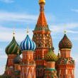 The Most Famous Place In Moscow, Saint Basil's Cathedral, Russia — Стоковая фотография
