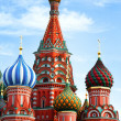 Saint Basil&#039;s Cathedral in Moscow - Stock Photo