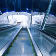 Business hall with escalators — Stock Photo