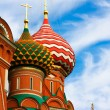 The Most Famous Place In Moscow, Saint Basil's Cathedral, Russia — Stock Photo #6711509