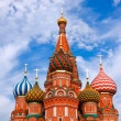 Cathedral of Vasily the Blessed on Red Square in Moscow, Russia — Stock Photo