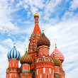 Cathedral of Vasily the Blessed on Red Square Moscow Russia — Stock Photo #6711712