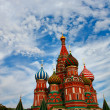 Cathedral of Vasily the Blessed on Red Square Moscow Russia — Stock Photo #6711720