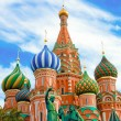 Cathedral of Vasily the Blessed on Red Square Moscow Russia — Stock Photo #6711765
