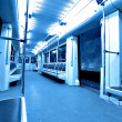 Inside modern train — Stock Photo #6711774