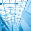 Modern roof inside office center - Stock Photo