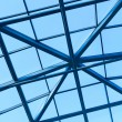 Transparent ceiling inside modern building — Stock Photo #6711862