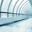 Glazed corridor in office center — Stock Photo #6712039