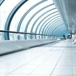 Contemporary hallway of airport — Stock Photo #6712055