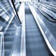 Movement of business escalator — Stock Photo #6712082