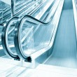 Escalator indoor shopping mall — Foto Stock